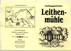 Gaststätte Leitenmühle bei Leisnig