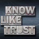 Kennenlernen - Schätzen - Vertrauen